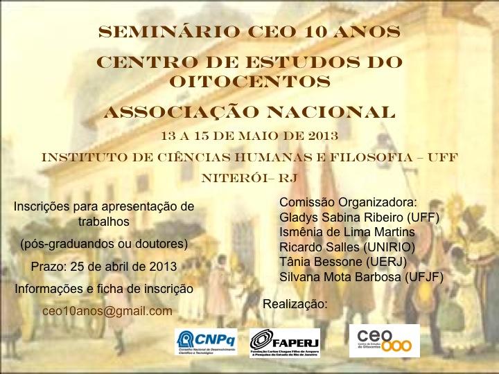 4º Seminário Regional – CEO 10 anos Fundação da SEO